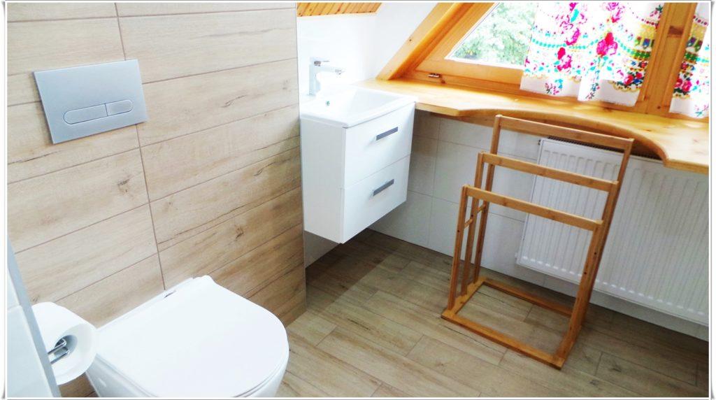 Przestronna łazienka Villa Vista Zakopane Apartament Zimowy
