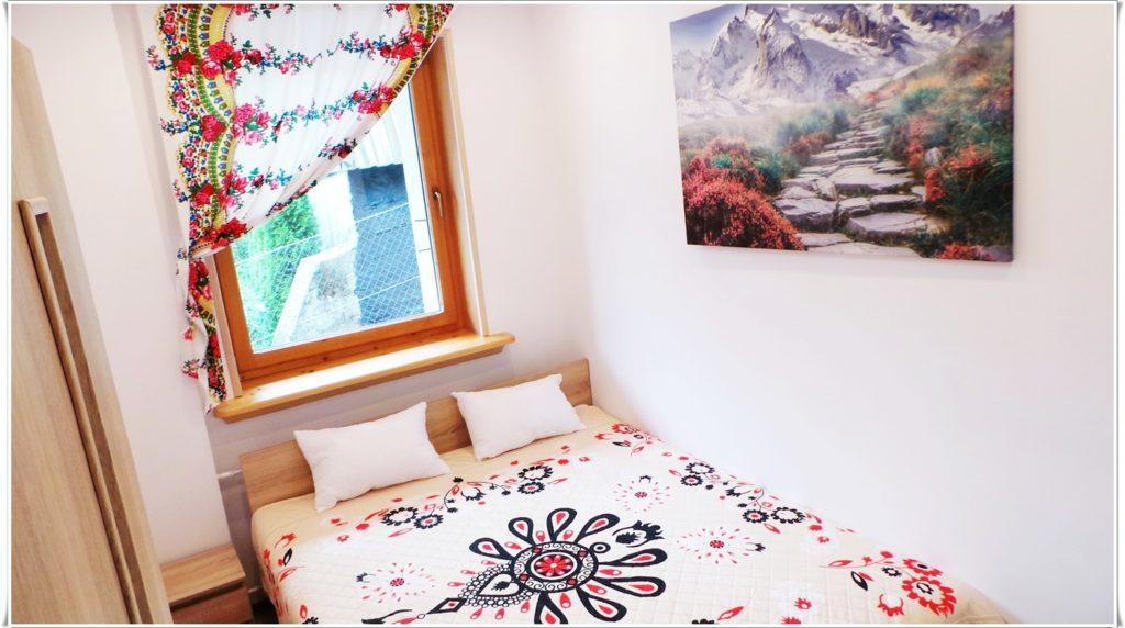 wynajem apartamentów Zakopane Villa Vista sypialnia Krupówki
