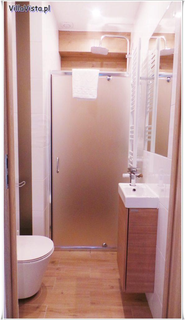 Apartament łazienka Villa Vista